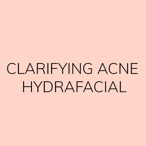Clarifying Acne HydraFacial